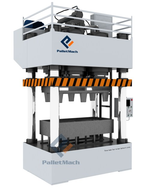 pressed plastic pallet machine