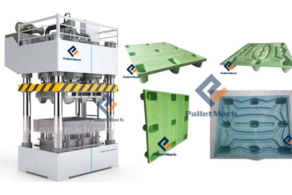 plastic pallet moulding machine