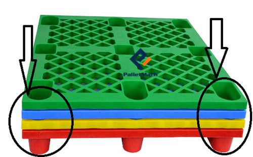nestable plastic pallets