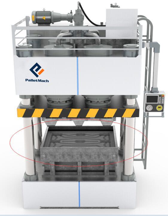 plastic pallet machine